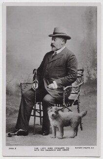 King Edward VII, by Thomas Heinrick Voigt, published by  Rotary Photographic Co Ltd - NPG x39946