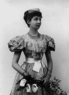 Agnes Chichester (née Christie), Lady Dixon-Hartland, by Alexander Bassano - NPG x431