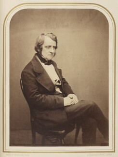 John Arthur Roebuck, by Maull & Polyblank, published August 1856 - NPG Ax7927 - © National Portrait Gallery, London