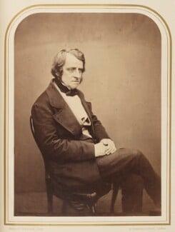 John Arthur Roebuck, by Maull & Polyblank - NPG Ax7927