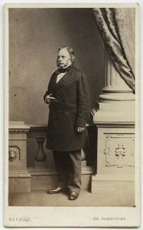 John Bright, by John Jabez Edwin Mayall, 1861 - NPG x4316 - © National Portrait Gallery, London