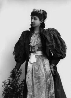 Agnes Chichester (née Christie), Lady Dixon-Hartland, by Alexander Bassano - NPG x432