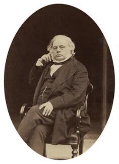 John Bright, by Rupert Potter, September 1871 - NPG x4320 - © National Portrait Gallery, London