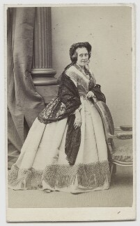 Marion Barrington (née Lyon), by Marie-Alexandre Alophe (Menut Alophe) - NPG x4338