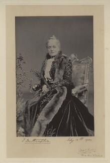 Lady Ismay Catherine Southampton (née Nugent), by Gunn & Stuart - NPG x4405