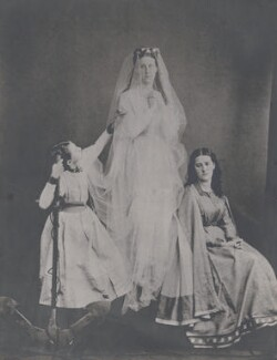 Constance Anne (née Herschel), Lady Lubbock; Matilda Rose Waterfield (née Herschel); Julia Mary Maclear (née Herschel), by Unknown photographer - NPG x44628