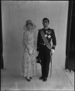 Kikuko, Princess Takamatsu of Japan; Nobuhito, Prince Takamatsu of Japan, by Vandyk - NPG x44631