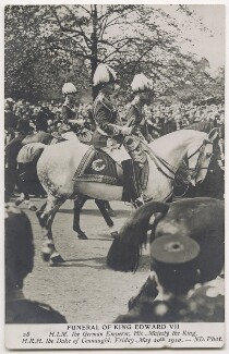 'Funeral of King Edward VII', by Unknown photographer - NPG x44632