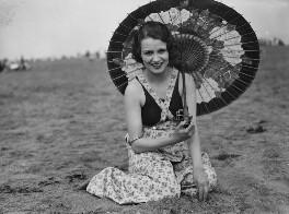 Dorothy Bartlam, by George Woodbine - NPG x44647