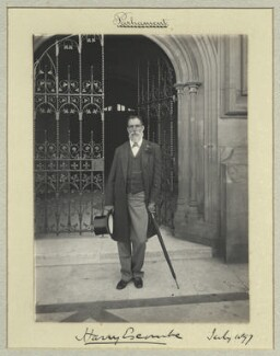 Harry Escombe, by Benjamin Stone - NPG x44671