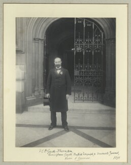 Francis Elmond D. Garth-Thornton, by Benjamin Stone - NPG x44677