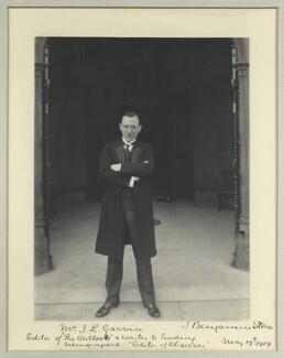 James Louis Garvin, by Benjamin Stone - NPG x44678