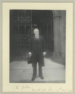 John Goolden, by Benjamin Stone - NPG x44681
