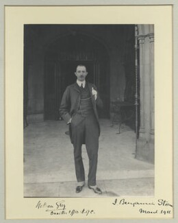 William Grey, by Benjamin Stone - NPG x44694