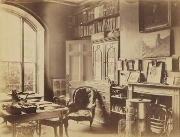 'Grandpapa's study, laboratory through the door' (the house of Sir John Herschel), by Unknown photographer, circa 1860 - NPG x44700 - © National Portrait Gallery, London