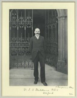 John Scott Haldane, by Benjamin Stone - NPG x44709