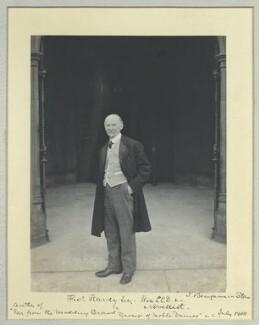 Thomas Hardy, by Benjamin Stone - NPG x44711