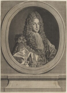 Prince James Francis Edward Stuart, by Louise Madeleine Cochin (née Horthemels), after  Alexis Simon Belle - NPG D14281