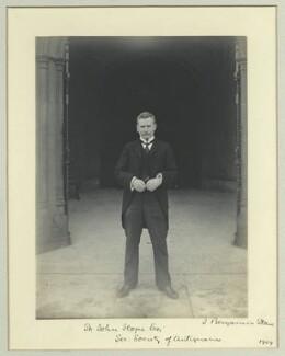 Sir William Henry St John Hope, by Benjamin Stone - NPG x44799