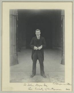 Sir William Henry St John Hope, by Benjamin Stone - NPG x44800