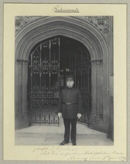 Joseph T. Kendrick, by Sir (John) Benjamin Stone, 2 April 1897 - NPG x44816 - © National Portrait Gallery, London