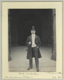 William James Stewart Lockyer, by Benjamin Stone - NPG x44860