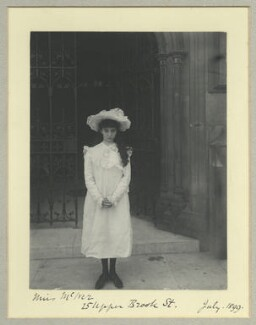 Marjorie Barabel Ruth Philips (née McIver), by Benjamin Stone - NPG x44864