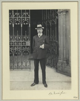 Henry William Massingham, by Benjamin Stone - NPG x44872