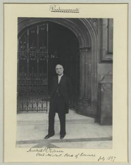 Archibald John Scott Milman, by Benjamin Stone - NPG x44885