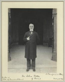 Sir John George Pilter, by Benjamin Stone - NPG x44922