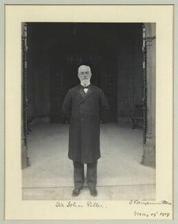 Sir John George Pilter, by Benjamin Stone - NPG x44923