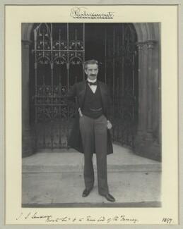 John Satterfield Sandars, by Benjamin Stone - NPG x44951