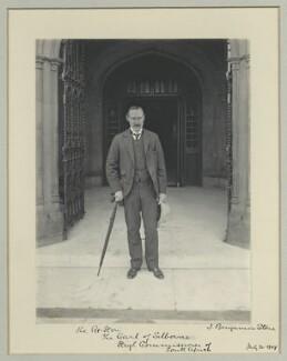 William Waldegrave Palmer, 2nd Earl of Selborne, by Benjamin Stone - NPG x44957