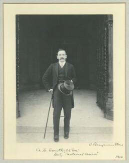 Albert Emanuel Southall, by Benjamin Stone - NPG x44974