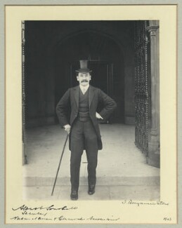 Albert Emanuel Southall, by Benjamin Stone - NPG x44976