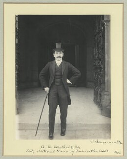 Albert Emanuel Southall, by Benjamin Stone - NPG x44977