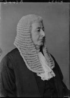 Sir (Alfred Henry) Lionel Leach, by Walter Stoneman - NPG x44995