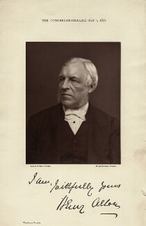 Henry Allon, by Lock & Whitfield, published 1 May 1879 - NPG x45 - © National Portrait Gallery, London