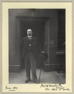 J.B. Westcott, by Benjamin Stone - NPG x45022