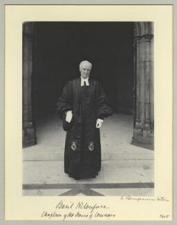 Albert Basil Orme Wilberforce, by Sir (John) Benjamin Stone, 1905 - NPG x45023 - © National Portrait Gallery, London