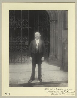 Charles Woodcraft, by Benjamin Stone - NPG x45034