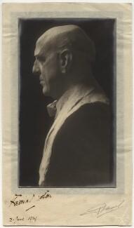 Frederic Norton, by Angus Basil - NPG x45044
