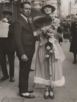 Rollo Amyatt de Haga Haig; Valerie de Haga Haig (née Hudson, later Fairtlough), by Graphic Photo Union - NPG x45054