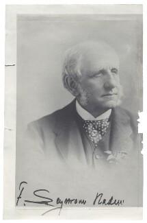 Sir Francis Seymour Haden, by Frederick Gutekunst - NPG x45055
