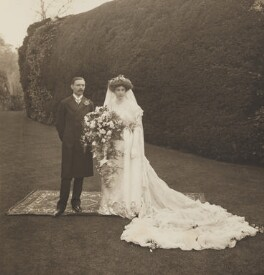 Lilian Powys-Lybbe (née Trotter); Reginald Cecil Powys-Lybbe, by (Arthur) Walton Adams, 5 May 1908 - NPG x45066 - © National Portrait Gallery, London
