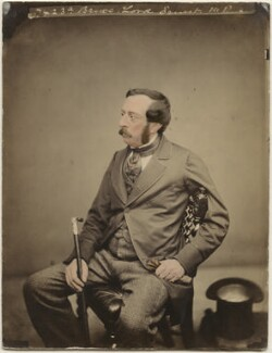 Ernest Augustus Charles Brudenell-Bruce, 3rd Marquess of Ailesbury, by Maull & Polyblank - NPG x45073