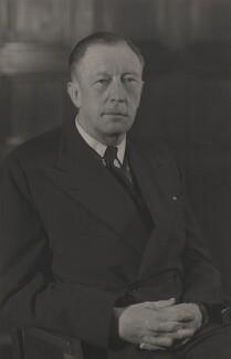Sir David Victor Kelly, by Walter Stoneman - NPG x45123