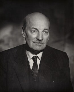 Clement Attlee, by Vivienne, 1950s - NPG x45165 - © reserved; collection National Portrait Gallery, London