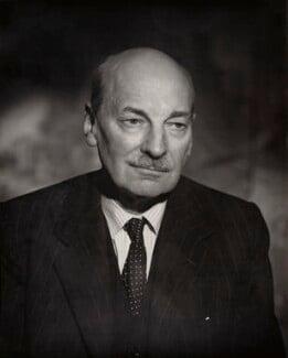 Clement Attlee, by Vivienne - NPG x45165