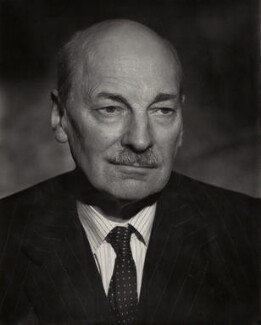 Clement Attlee, by Vivienne, 1950s - NPG x45166 - © reserved; collection National Portrait Gallery, London